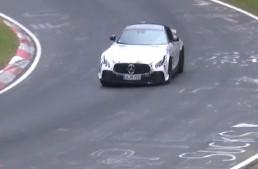 Chiar el? Mercedes-AMG GT R Black Series surprins în teste la Nurburgring