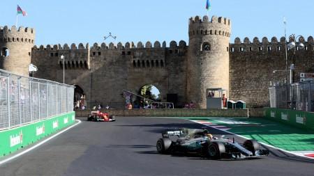 Lewis Hamilton Baku