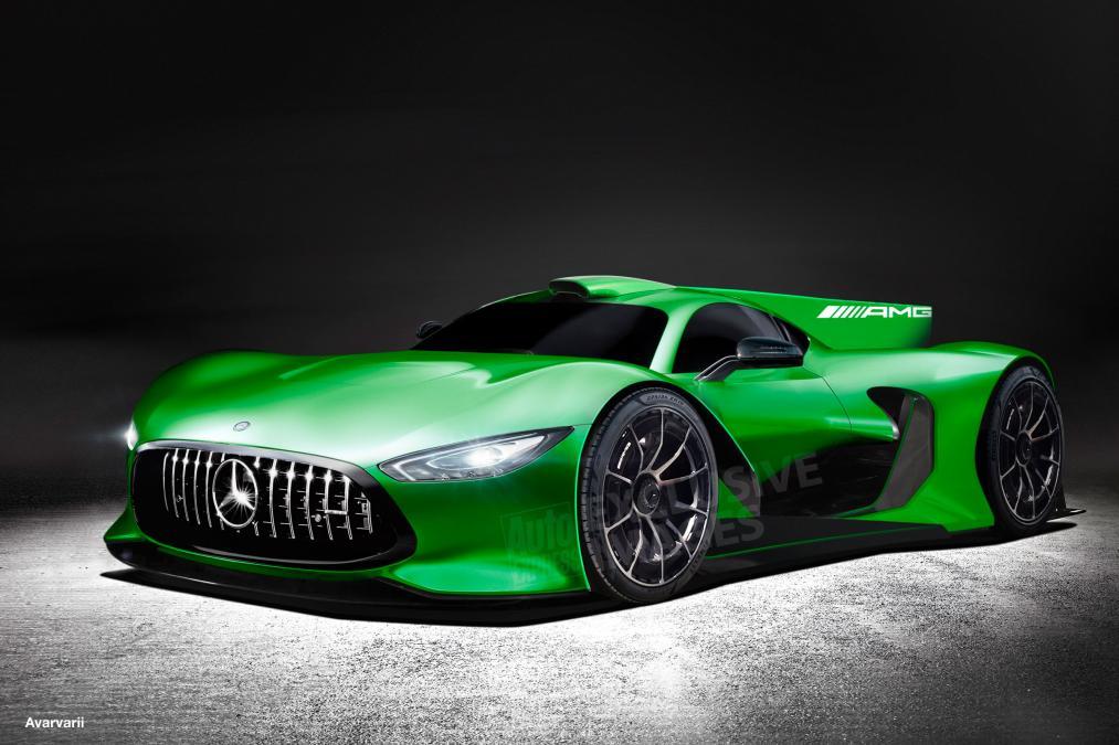 Mercedes-AMG Project One, hypercar-ul cu peste 1.000 CP – prima imagine reală