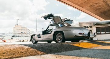 Un club cu clasă – Proprietarii de Mercedes-Benz 300 SL și-au dat întâlnire la Muzeu