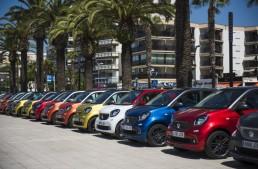 Parada smart: aproape 3000 de fani smart au sărbătorit în Spania
