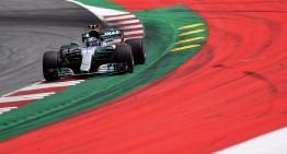 Valtteri Bottas de la Mercedes câștigă Marele Premiu al Austriei