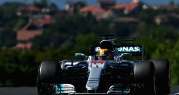 Marele Premiu al Ungariei – Săgeți argintii frânte