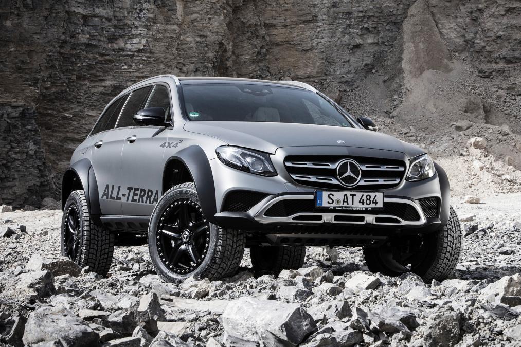 Mercedes-Benz E-Class All-Terrain 4×4² – Inginerii au luat-o pe arătură. La propriu!