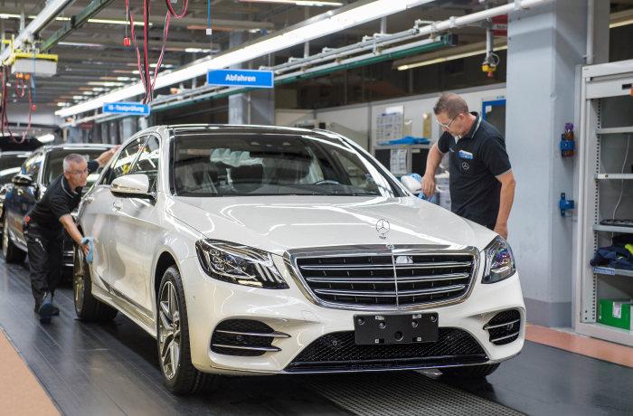 Mercedes-Benz S-Class intră în producția de serie la cea mai modernă uzină