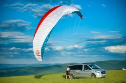Toma Coconea si Mercedes-Benz Vito, in cucerirea Muntilor Alpi