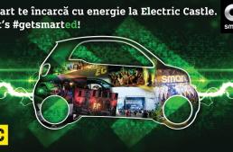 Smart electric drive este mașina oficială la Electric Castle 2017