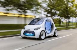 smart vision EQ fortwo – Conceptul care schimbă lumea
