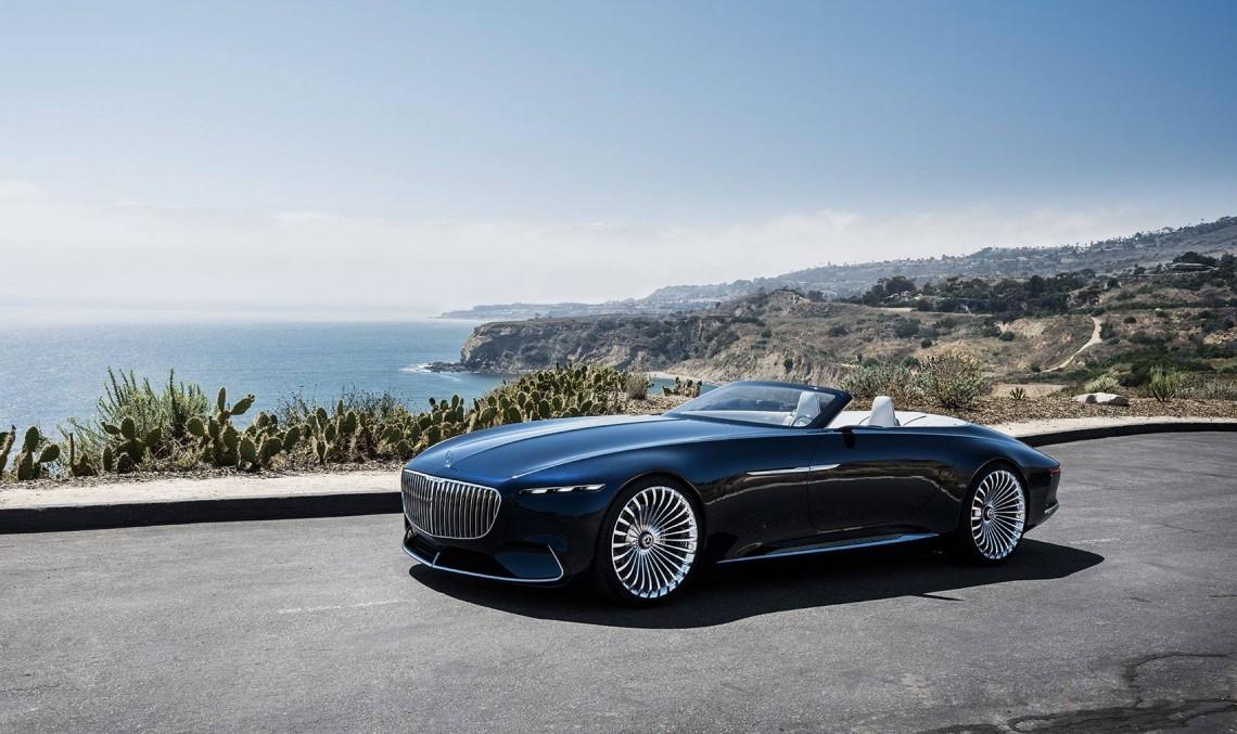 California Dreamin' – Vision Mercedes-Maybach 6 Cabriolet a fost prezentat la Pebble Beach