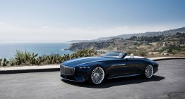 California Dreamin' – Vision Mercedes-Maybach 6 Cabriolet a fost prezentat la Pebble Beach