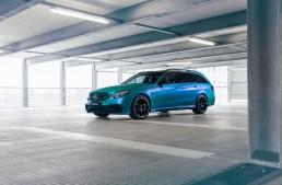Putere acvamarin – Mercedes-AMG E63 S Estate tunat de Fostla