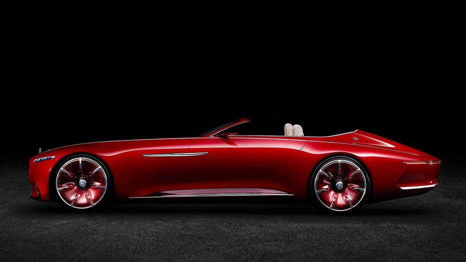 Pregătiți-vă! Mercedes-Maybach 6 Cabrio va fi prezentat la Pebble Beach