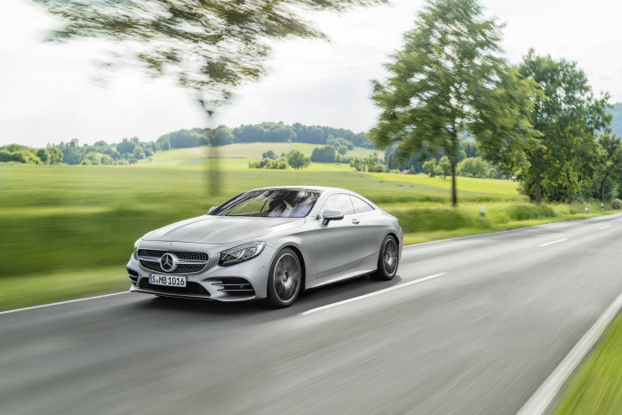 Mașini de vis – Mercedes aduce la Frankfurt S-Class Coupe și Cabriolet facelift