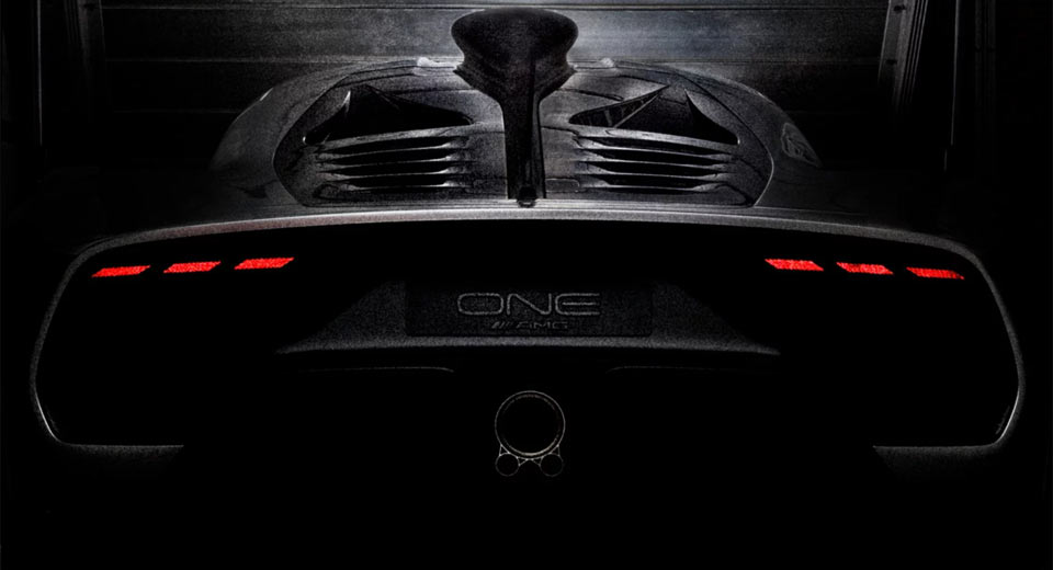 O mașinărie de-a dreptul nebună – Așa arată din spate hypercar-ul Mercedes-AMG Project One
