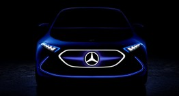 Conceptul Mercedes EQ A își arată fața înaintea debutului de la Frankfurt