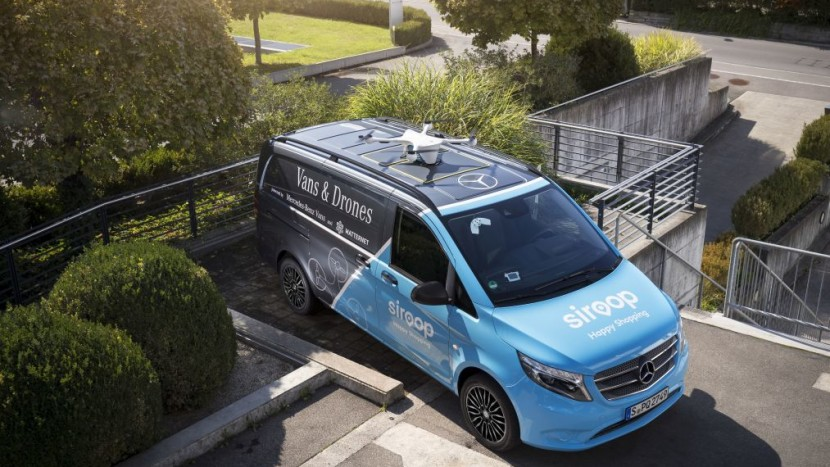 Coletele sunt livrate cu drone în Elveția!