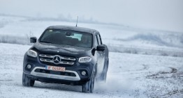Primul test Mercedes X 250 d 4Matic