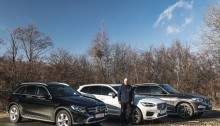 test comparativ Mercedes GLC, BMW X3, Volvo XC60 (3)