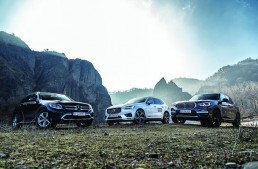 Test comparativ Mercedes GLC 250 d 4Matic vs noile BMW X3 xDrive 20d, Volvo XC60 D5 AWD