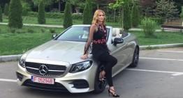 Camelia Potec & Mercedes-Benz Clasa E Cabrio