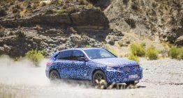 Mercedes-Benz EQC testează la temperaturi de peste 40 de grade în deșert