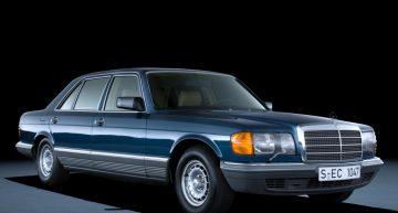 Mercedes Clasa S W126 aniversează 40 de ani