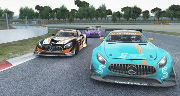 """""""Catenaccio"""" marca Virtual Racing Romania la Barcelona"""
